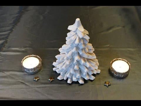3d weihnachtsbaum aus papier selber machen doovi. Black Bedroom Furniture Sets. Home Design Ideas