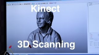 Microsoft Kinect 3D Scanning Demo at Gadget Show Live 2013
