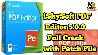 how to iSkysoft pdf editor 5.0.0 full crack with patch file