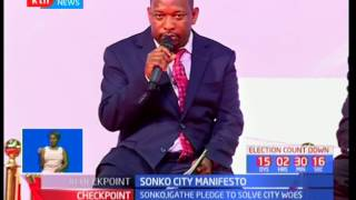 Mike Sonko launches his Manifesto ahead of the elections