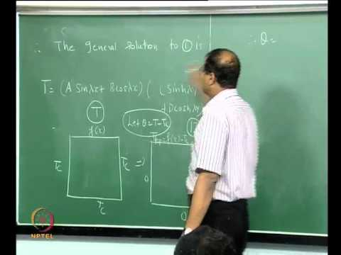 Mod-01 Lec-41 Two dimensional steady state conduction