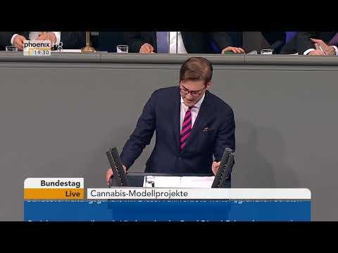 Bundestagsdebatte zu Cannabis-Modellprojekten am 22.02.18