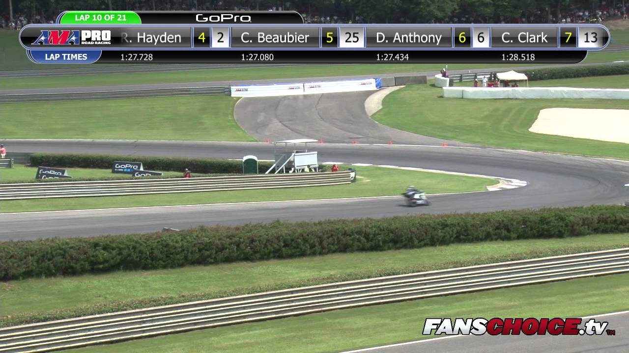 AMA Pro SuperBike - Barber Motorsports Park - 2014 FULL Race 2 (HD ...