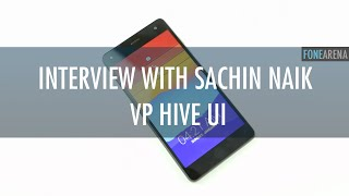 Interview with Sachin Naik, VP Hive UI