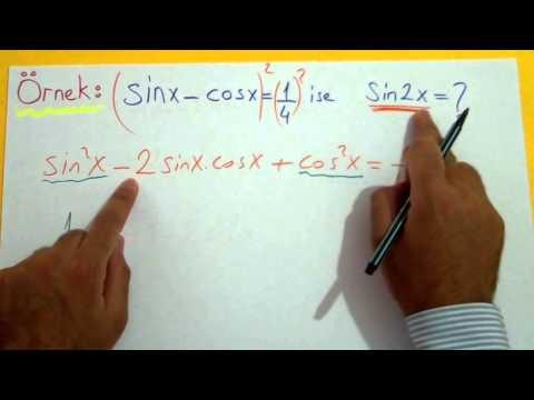 Trigonometri 12 (Yarım Açı Formülleri) Şenol Hoca Matematik