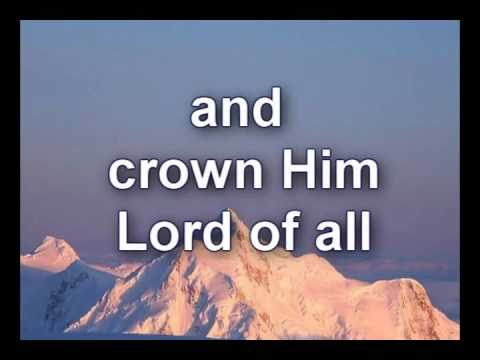 All Hail the power of Jesus Name   Worship Video w lyrics