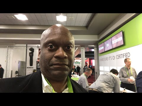 Wireless Power Consortium Interview At CES 2018 #CES2018