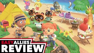 Animal Crossing: New Horizons - Easy Allies Review (Video Game Video Review)