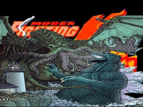 Mugen Fighting Jam Madness: Cthulhu vs. Godzilla