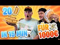 20 HOTDOGS in 15 MINUTEN fr 1000
