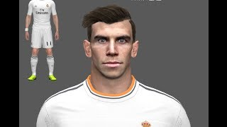 PES 2014 • Gareth Bale New Face & Hair | Real Madrid Download • HD Thumbnail
