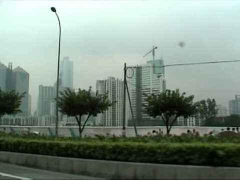 2000 Unedited Drive Into Guangzhou