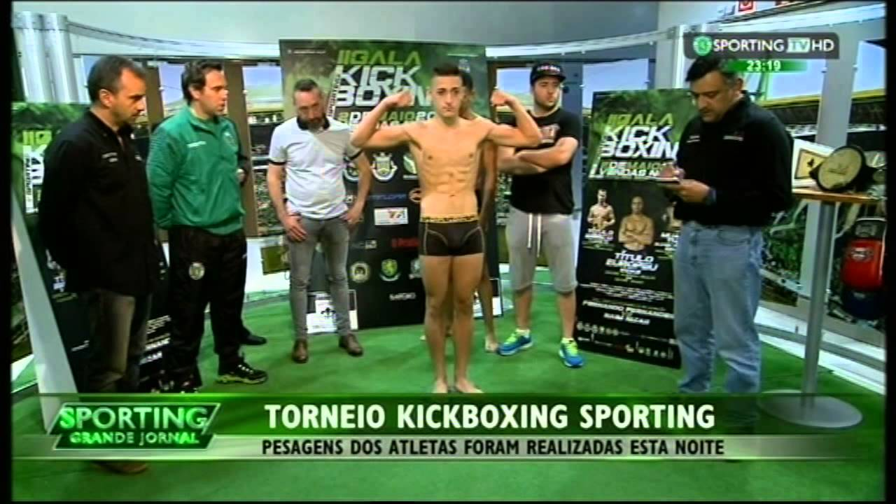 KickBoxing :: Promoção da II Gala Kickboxing do Sporting dia 2 de Maio 2015 em Vendas Novas.