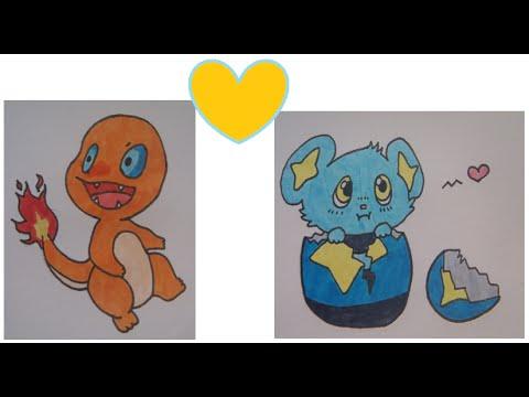 Tuto dessiner des pok mon kawaii salam che lixy youtube - Dessiner pokemon ...