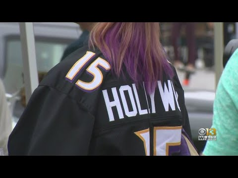 Rally Held In Baltimore Ahead Of Ravens' Home Opener Against Cardinals