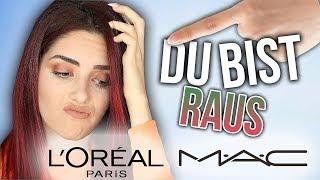 FULL FACE Make up mit Marken die MICH HASSEN 😡Ich verabschiede mich von PR Listen 👋🏻