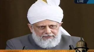 Cuma Hutbesi Türkçe tercümesi 17th June 2011 - Islam Ahmadiyya