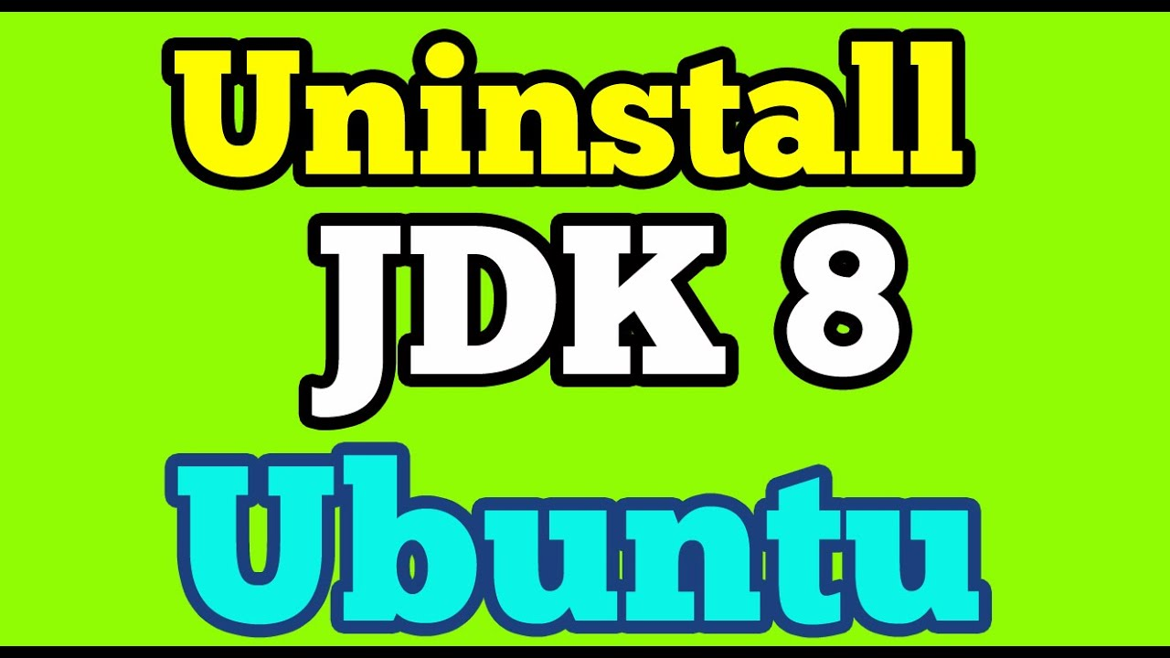 Uninstall Oracle Java Jdk 8 from Ubuntu 14 04 using Terminal