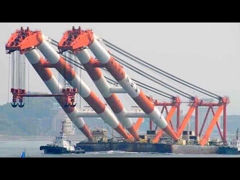 """起重機船 吉田組 第50吉田号 / Crane Barge """"50th YOSHIDA-GO"""""""