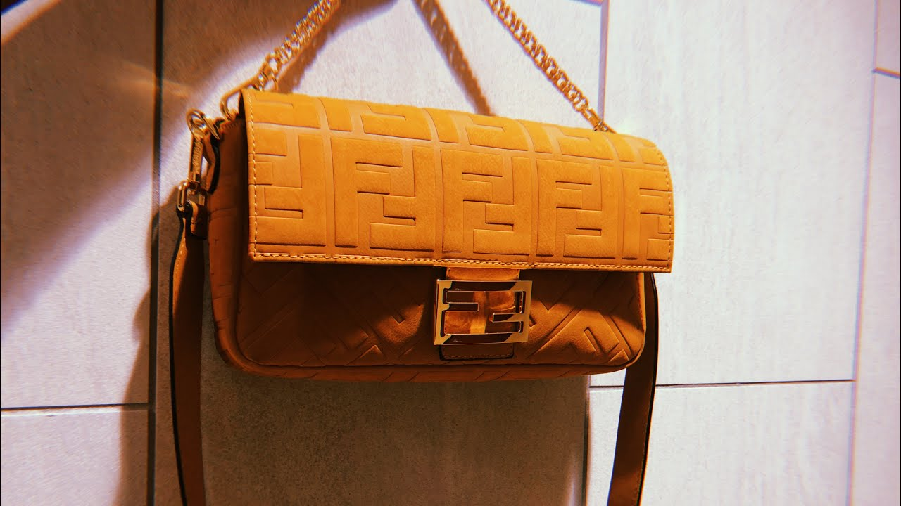 Fendi Baguette Unboxing Review | Bougie on a Budget | Summer 2020 Collection Dupe