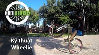 [Vietriders.vn] - Kỹ thuật Wheelie MTB (Bốc đầu xe đạp)
