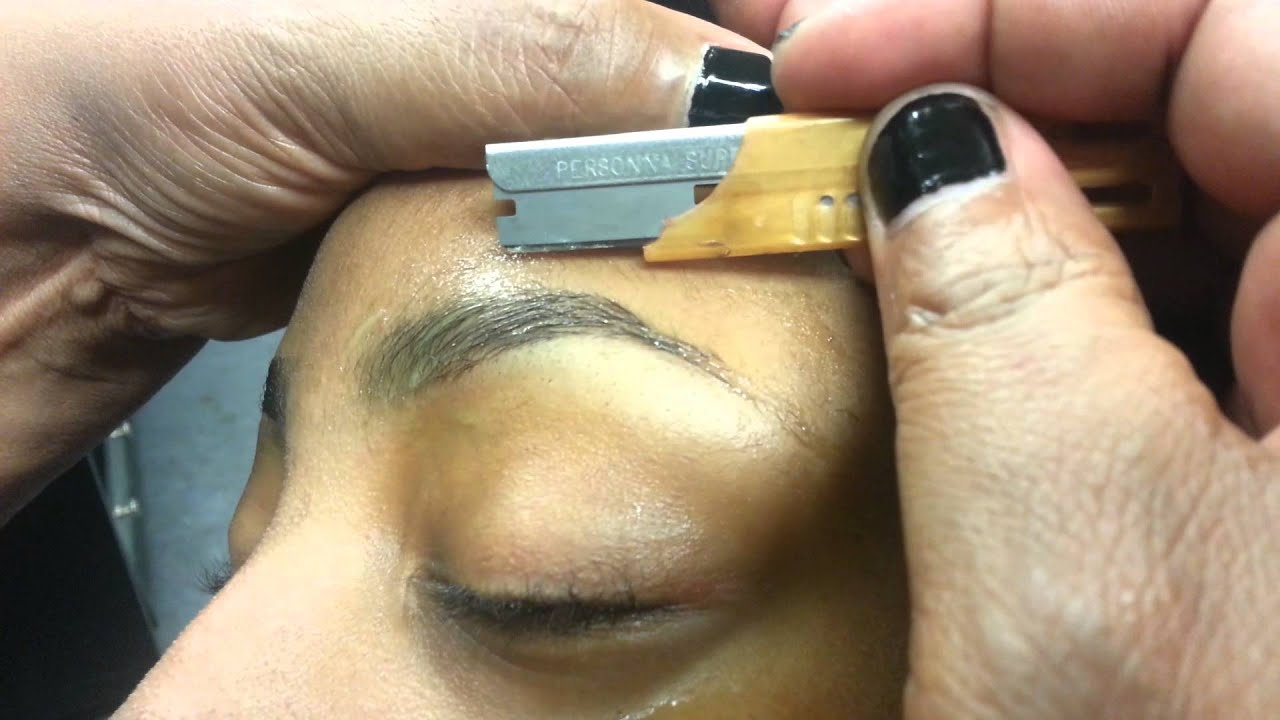 how to make your eyebrows shaped