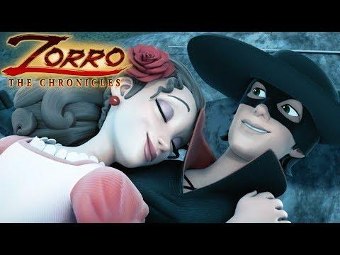 Les Chroniques de Zorro | Episode 26 | COUP DE FORCE | Dessin de super-héros