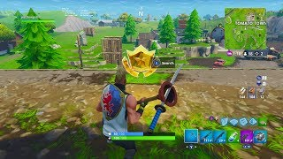 """Follow the treasure map found in Risky Reels"" Location Fortnite Week 1 Challenge! SEASON 5 EASY!"