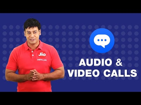Jio Chat - How to do Video or Audio Call to your Friends on Jio Chat | Reliance Jio