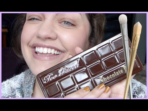 GRWM: NEW Real Techniques Brushes & Too Faced Chocolate Bar Palette!