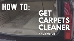 Interior Car Detailing Secrets - How To Get Carpets Cleaner
