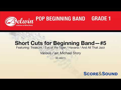 Short Cuts for Beginning Band – #5, arr. Michael Story – Score & Sound