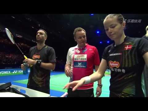 2016 All England - SF - J  Fischer Nielsen/Christina Pedersen vs Chris Adcock/Gabrielle Adcock