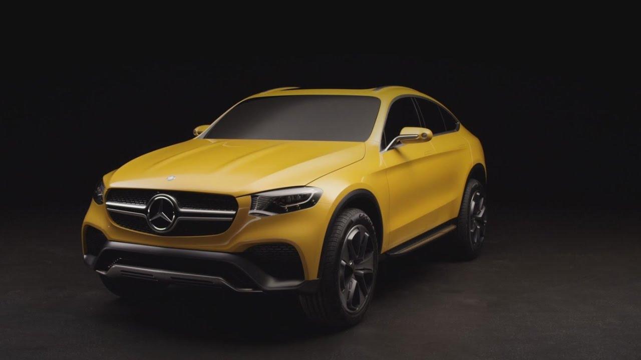 Mercedes Benz Gle Coupe >> Concept GLC Coupé – Trailer - Mercedes-Benz original - YouTube