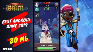 New best Android Games Gameplay(Blades of Brim)