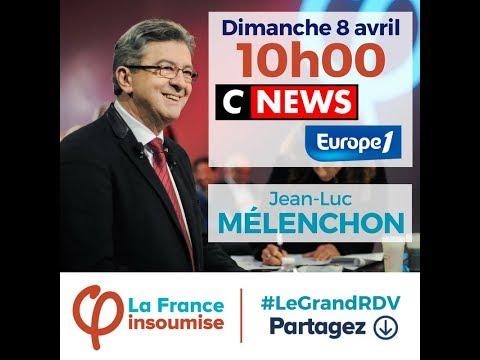 Jean-Luc Mélenchon : Le grand rendez-vous 08/04
