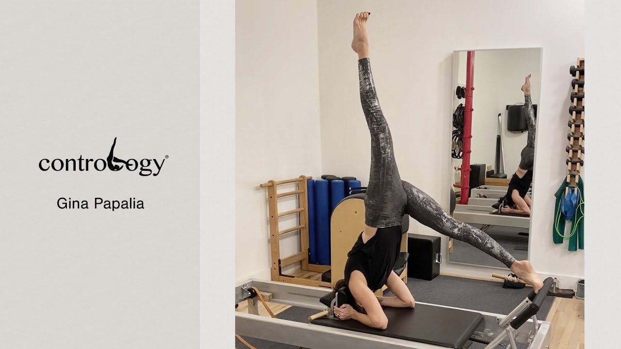 Gina Papalia on the Contrology® Reformer