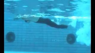 Обучающее видео по плаванию в ластах (перевод)