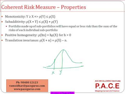 Measures of Financial Risk