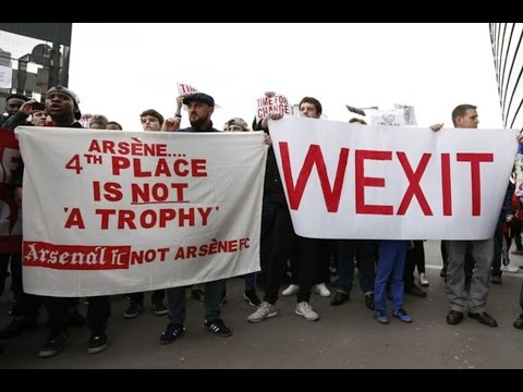 Are The Wenger Out Protests RIGHT or WRONG??