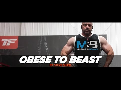 Obese to Beast: Steve Shaw's Complete Body Transformation Plan