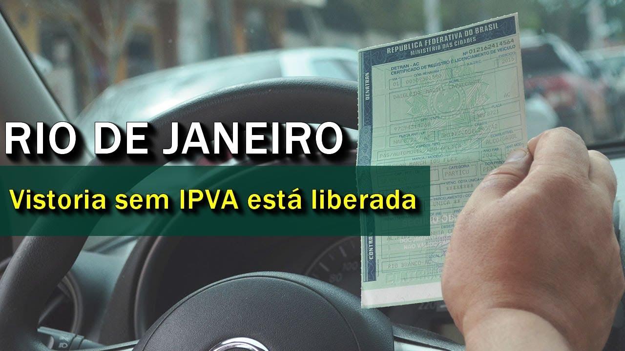 Resultado de imagem para Vistoria sem a necessidade de pagamento do IPVA