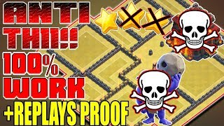 ANTI TH11!! W/PROOF | TH9 WAR BASE 2017 | BASE WAR TH9 TERKUAT 2017 | CLASH OF CLANS