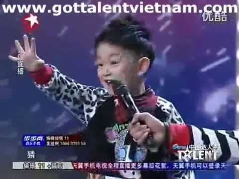 Cậu bé dễ thương thi China
