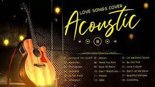 Top English Acoustic Love Songs Cover 2021 - Best Guitar Acoustic Cover Of Popular Songs Of All Time