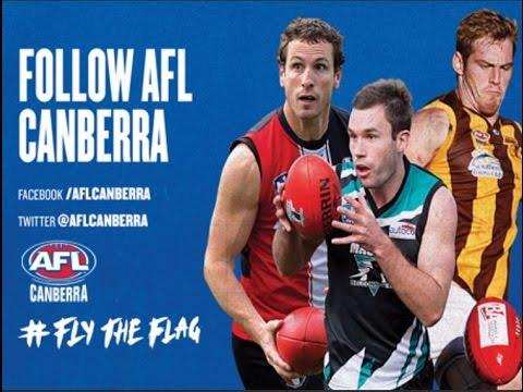 2016 AFL CANBERRA 1ST GRADE - Rd 19 Tuggeranong Hawks v Gungahlin Jets