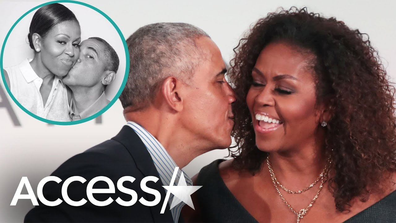 Barack Obama Plants Kisses On Wife Michelle In Romantic Birthday Snaps: 'You Are My Star'