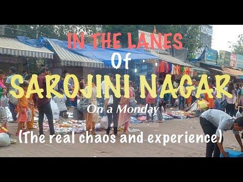 SAROJINI NAGAR MONDAY MARKET (Delhi) |THE REAL EXPERIENCE|TheLifeSheLoved| Sana K