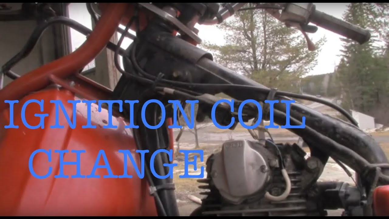 Wheeler Wiring Diagram Honda Big Red Atc 200e Ignition Coil Change Youtube