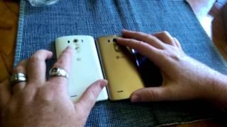 LG G3 white unboxing